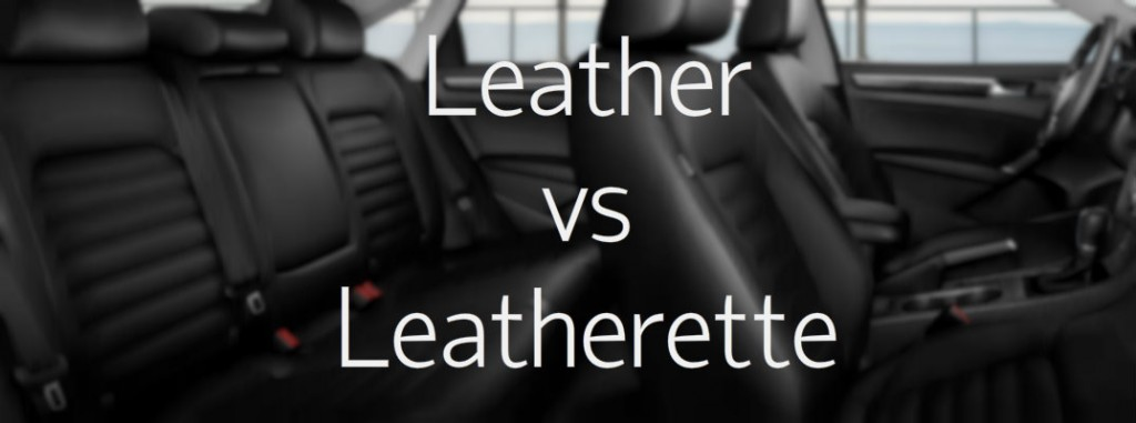 Difference between leather and  leatherette