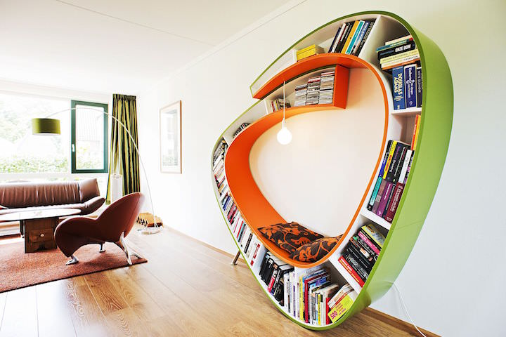 5 Awesome Bookshelves that will Give You Serious Goals