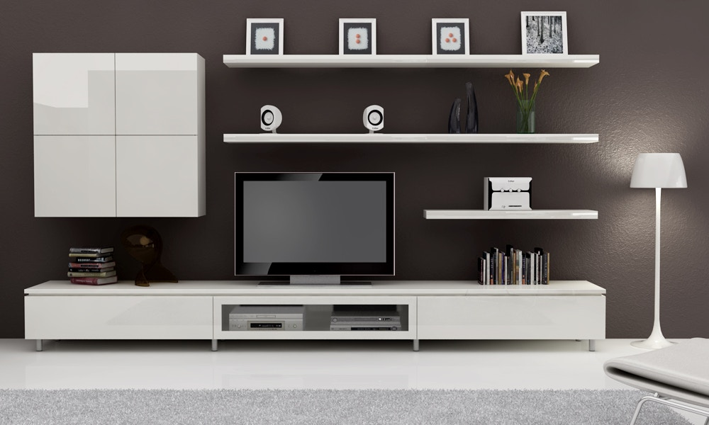 6 Stylish & Modern Entertainment Units For Your Living Room