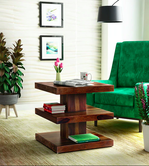 Acropolis Solid Wood Coffee Table on Pepperfry - Furniture20