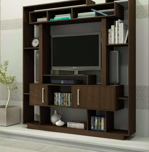 TV Unit in Tobacco Finish Pepperfry - Furniture20
