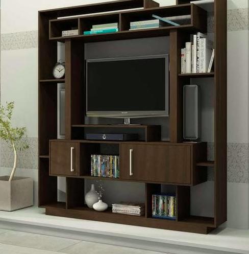 TV Unit in Tobacco Finish Pepperfry - Furniture20