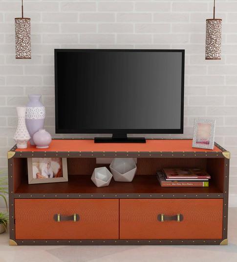Leather Streamer TV Unit By Studio Ochre Furniture20