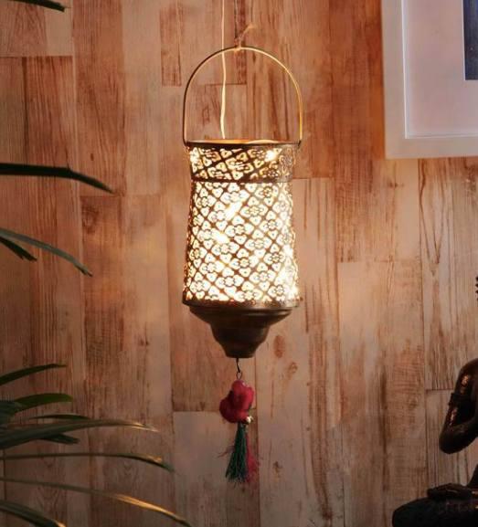 Gold Metal Single Hanging Lights