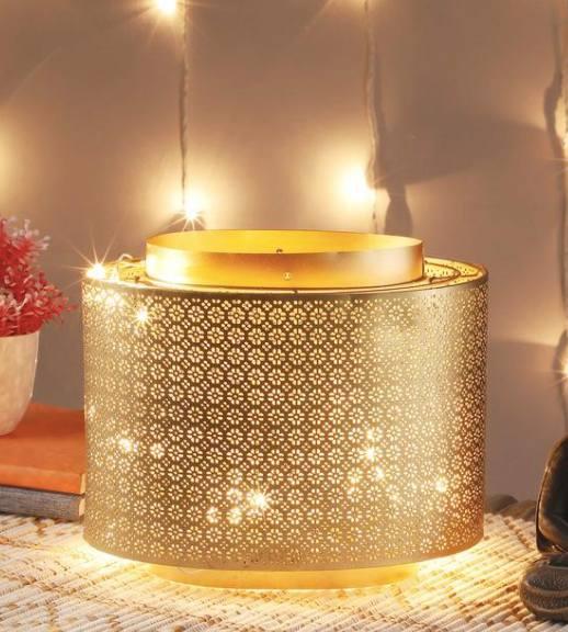Antique-Gold-Iron-Hanging-Tea-Light-Holder