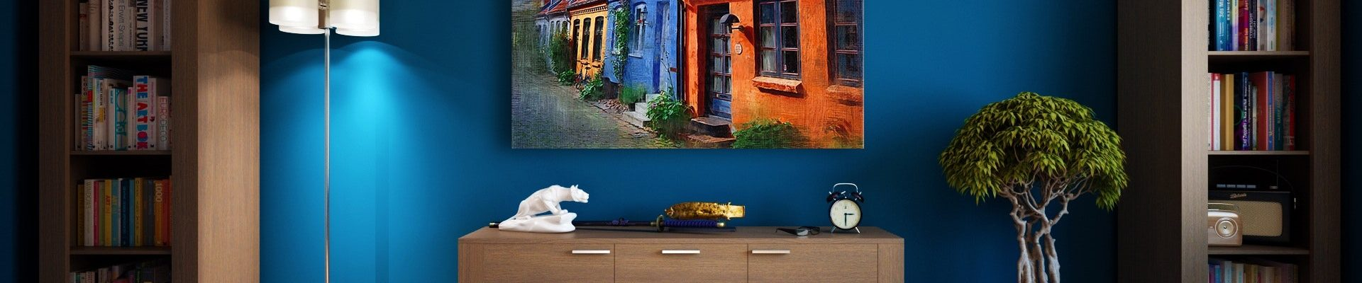 rent-furniture-online-apartment-bookcase