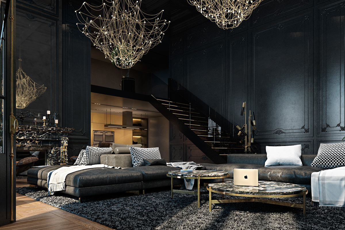 5 Tips To Make The Dark Interior Look More Bold And Exotic