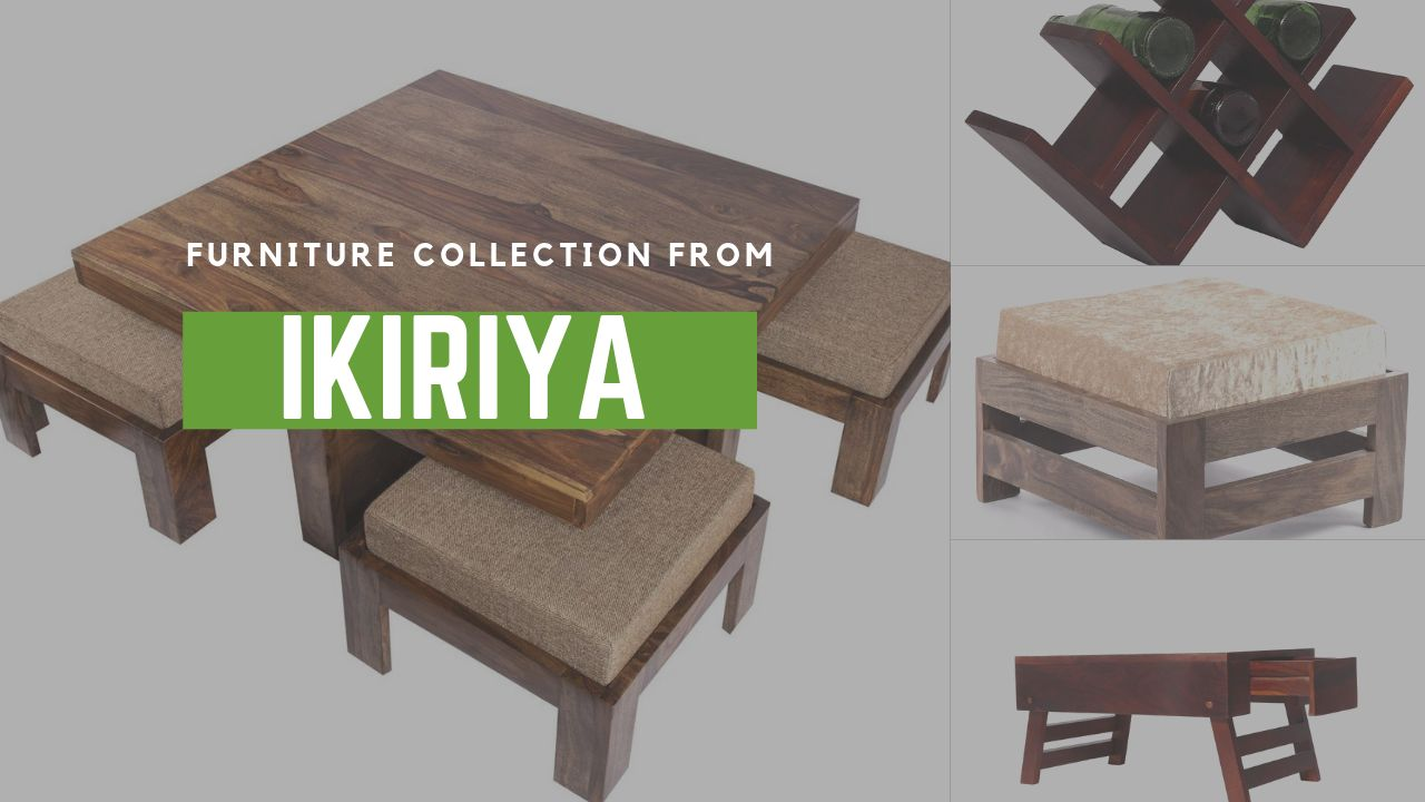 Avail handsome discounts on furniture collection from Ikiriya