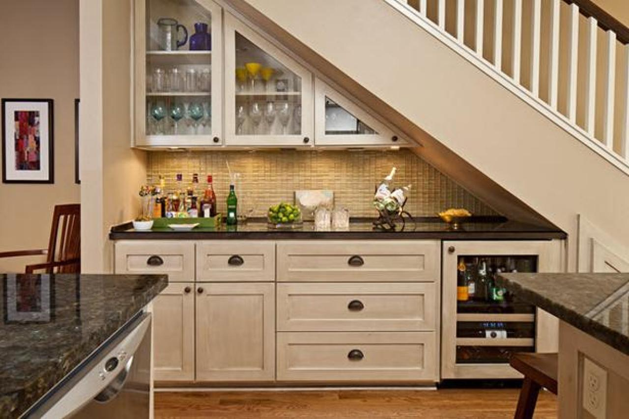 10 Ideas For Using The Space Under The Stairs