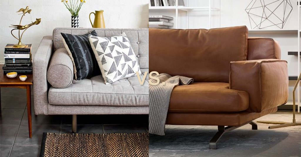 Leather or Fabric- Which Sofa Is Better?